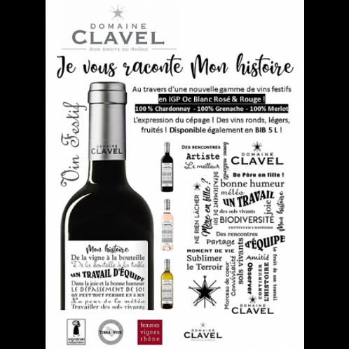 Mon Histoire - Domaine Clavel - Côtes du Rhône