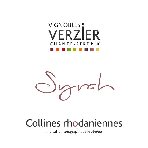 Conivence - Syrah - Vignoble Verzier - Chavanay