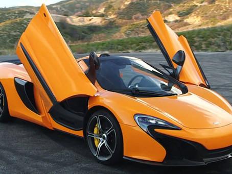 Drive the McLaren 650S!
