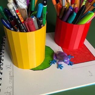Pots à crayons XL 🖌⭐️✒️ Simples et effi