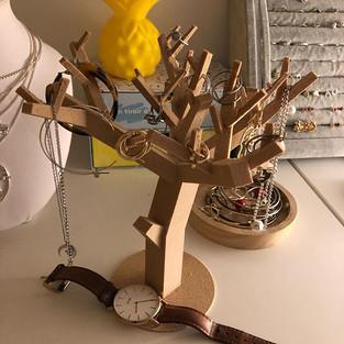 Arbre à bijoux imprimé en 3D 💎🌟🌳 Fich