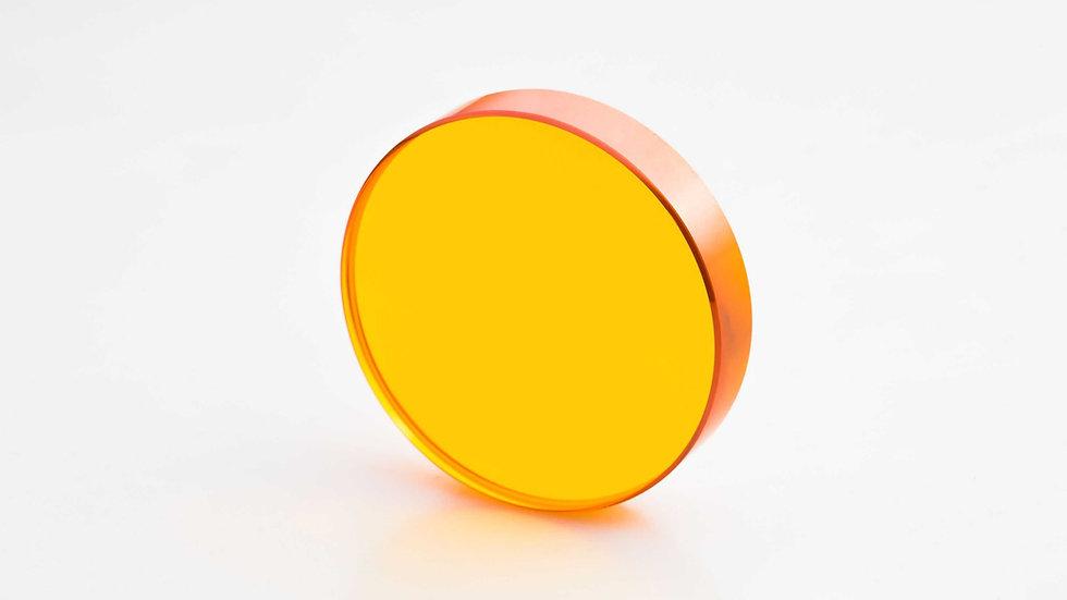 """ZnSe Linse / D 38,1 mm (1,5"""") / FL 190,0 mm (7,5"""") / ET 7,37 mm"""