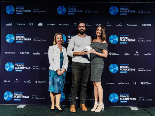 Remi AI/Sparro win the Mumbrella Travel Award for Innovation