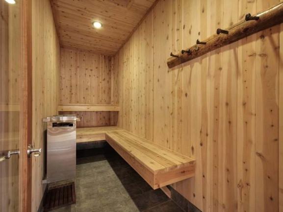 boulders - sauna