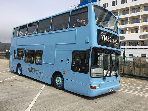 P3 YMS in the Dover Cruise Terminal