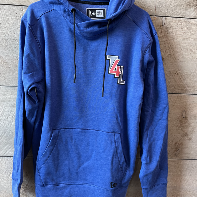 Blue T4L sweatshirt: $55