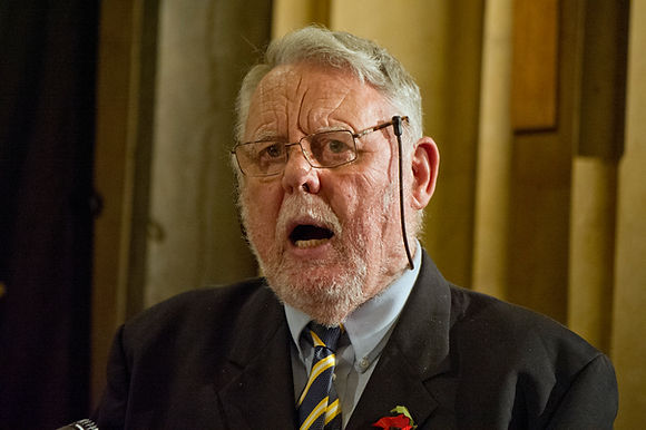 Terry Waite CBE speaks at Festival of Remembrance