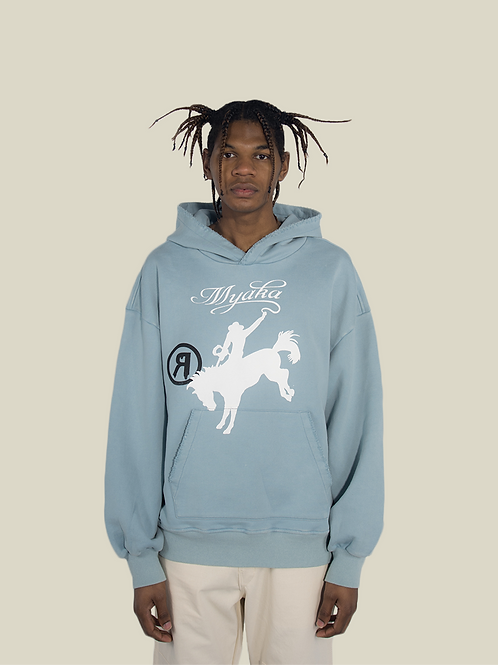 Cocaine Cowboy Hoodie - Frost