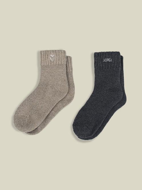 Signature Wool Socks - 2 Pack