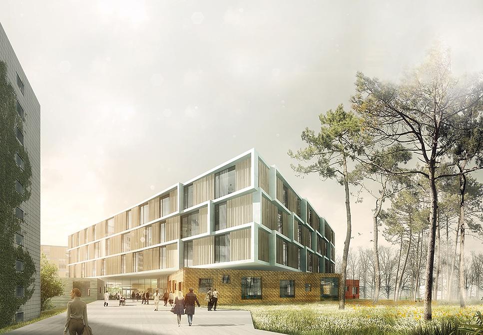 Glostrup Neurologic Centre, Ouside view
