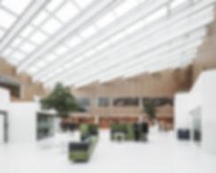 Furesø City Hall, interior view