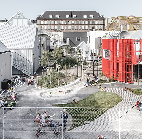 Playground, Kids City in Copenhagen