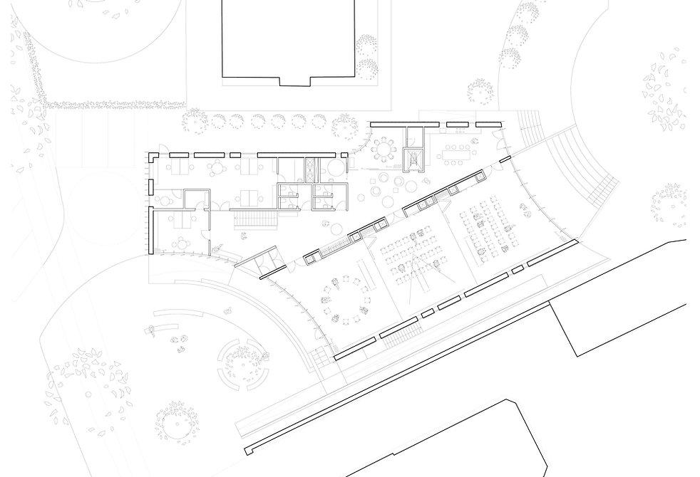 Plan and Landscape. Parish Centre, Brønshøj
