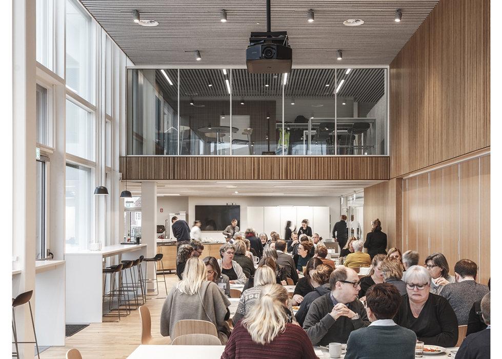 Furesø City Hall. Værløse ind Denmrk