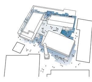 European School Roof Landscape