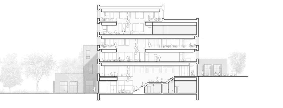 Cross-section, Banedanmark, Ringsted