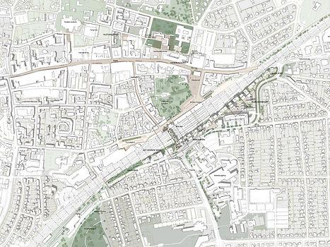 Area Map Ny Østergade