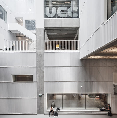 Univercity College Complex in Carlsberg, Copenhagen