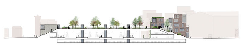 Roskilde Cross-section Masterplan
