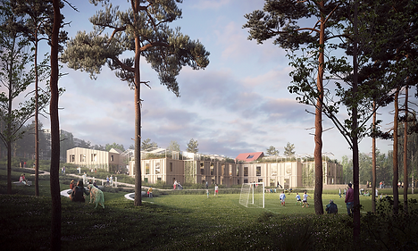 Furuset Hageby Housing for Elderly