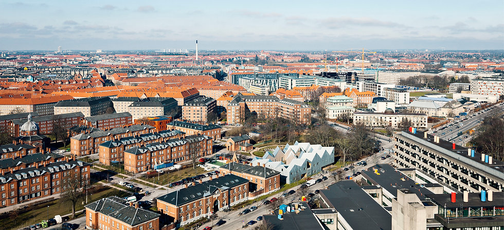 Placed in Copenhagen Munincipality, Cancer Care Centre