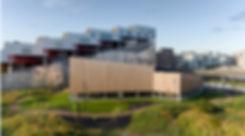 Facade view, Multi Sports Hall