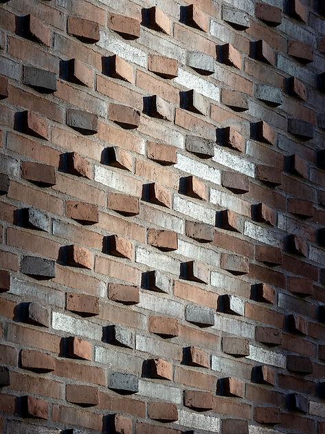 Brickwork detail, European School Copenhagen