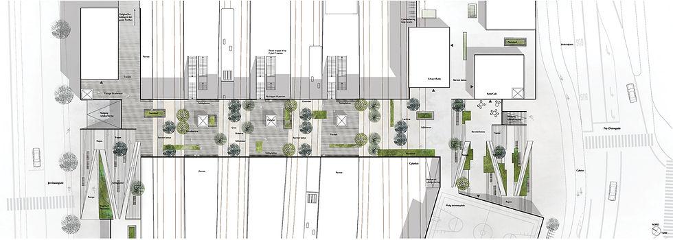 Roskilde Ny Østergade Plan