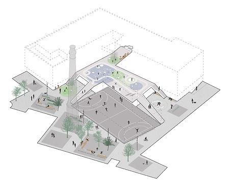 Outdoor plan, European School