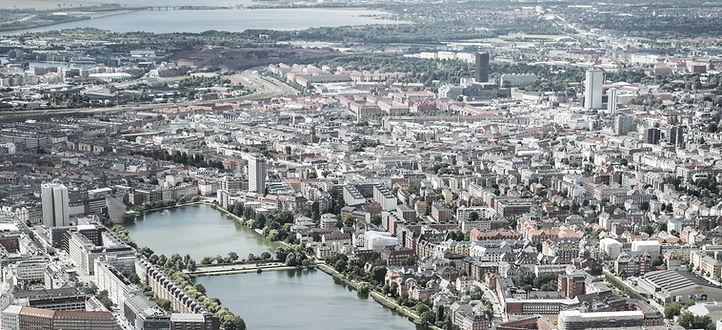 Overview Carlsberg neighborhood, Copenhagen