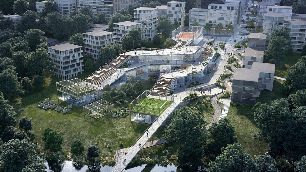 Frysja. Olso Urban Development