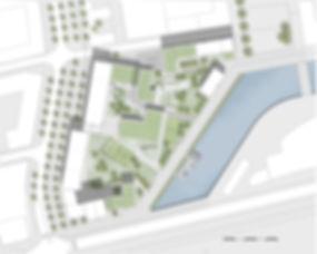 Overview Varvsstaden. Urban Planning