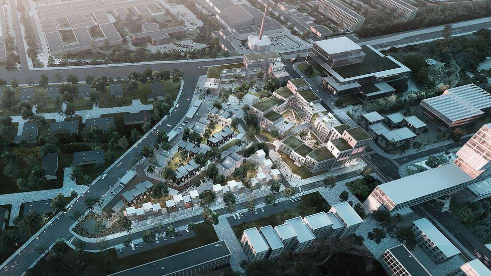 Seen from above: Student housing contributes to social sustainability