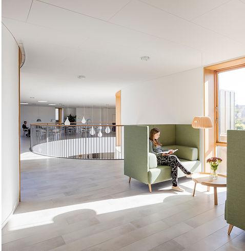 Inside view. Hospice in Copenhagen