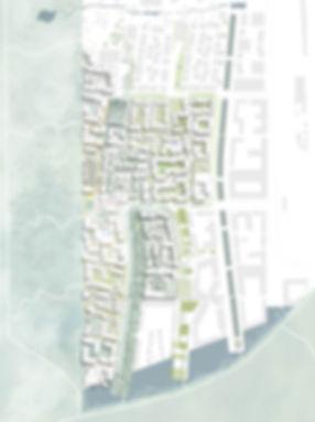 Landscape into neighborhood. Plan proposal