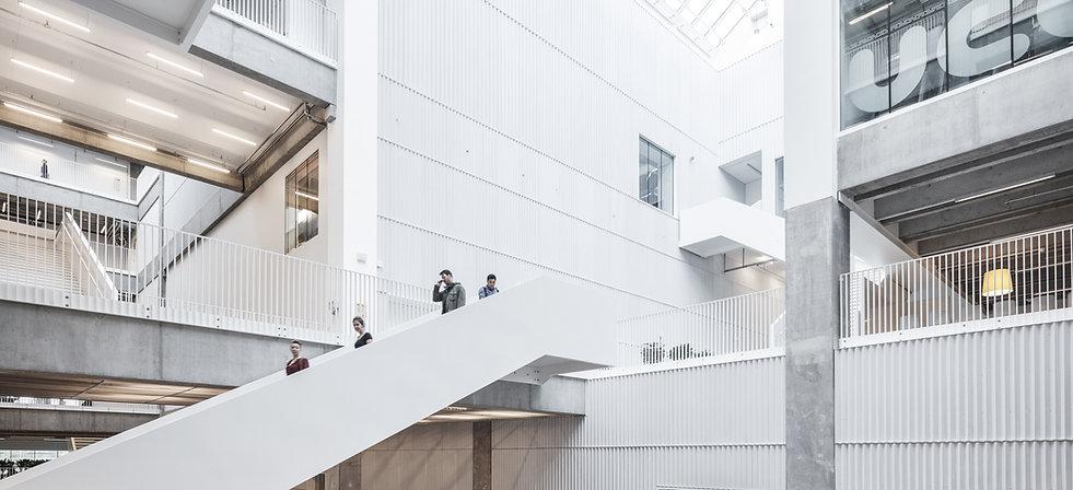 UCC - Univercity College Complex in Carlsberg, Copenhagen