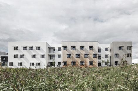 Hillerød Healthcare Centre, Facade