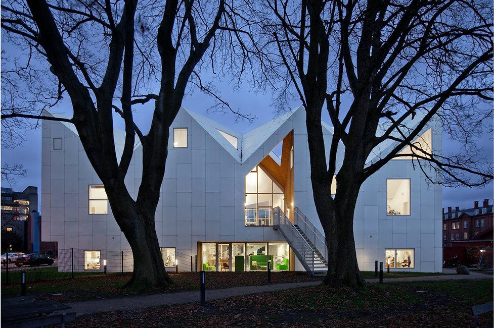 Healthcare centre, facade. Copenhagen