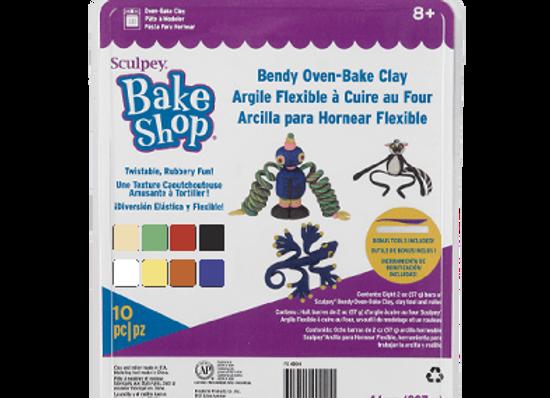 Kit de arcilla Polimérica FLEXIBLE - Bake and Shop