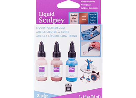 Multipack Liquido para Horno - Colores Glam Metálicos