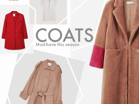 COAT SEASON IS ON - THE PERFECT ONE FOR AUTUMN