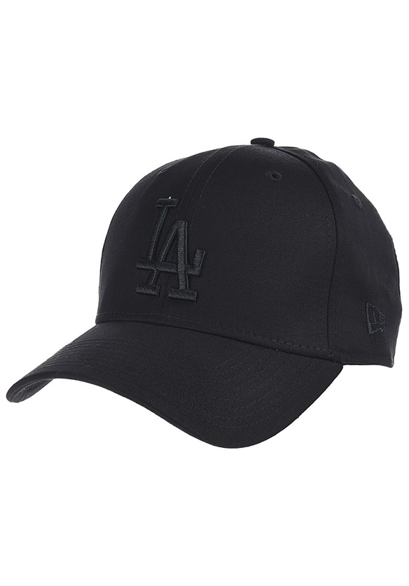 new-era-league-essential-39thirty-los-angeles-dodgers-fitted-cap-schwarz