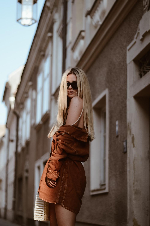 Leinenkleid Trend 2018