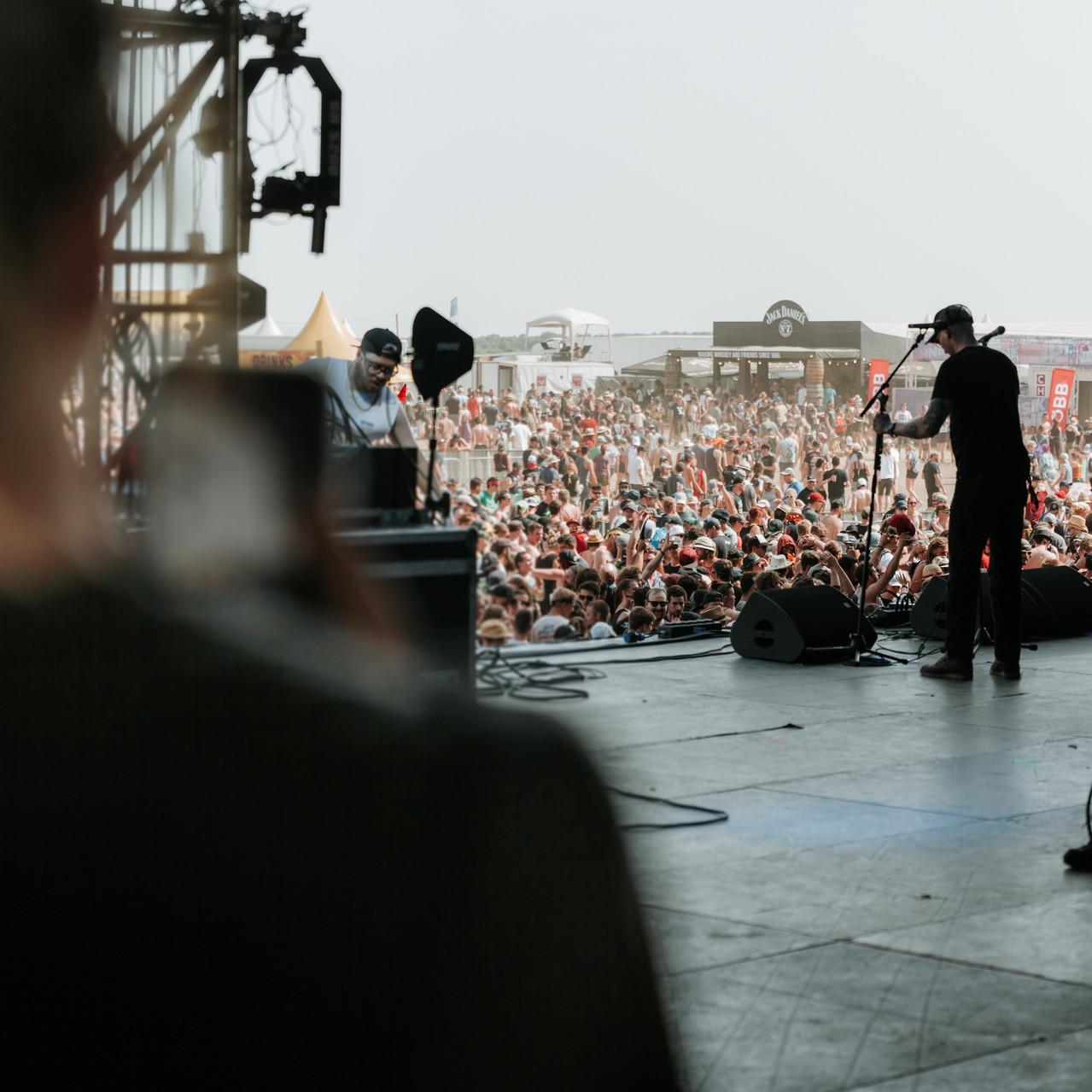 BACKSTAGE-TOUR am NOVA ROCK FESTIVAL