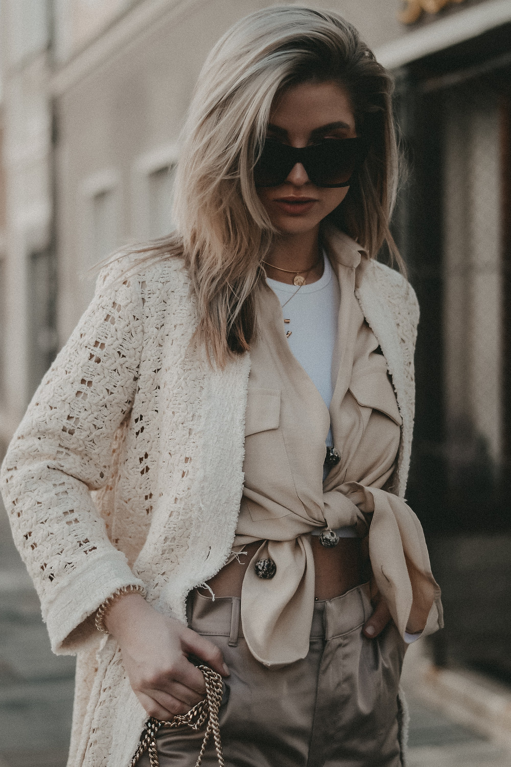 CRÈME DE LA CRÈME - ALL BEIGE EVERYTHING OUTFIT