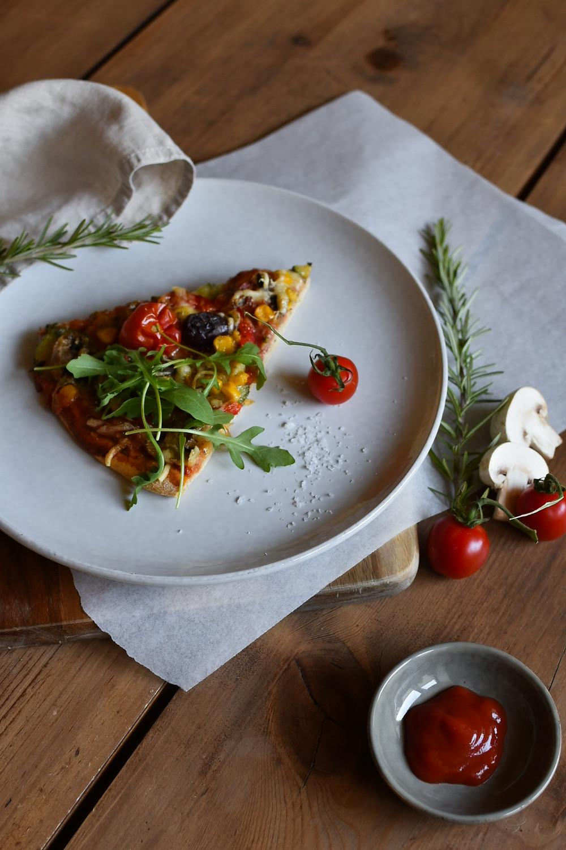 #HOMEMADE PIZZA WIE AUS BELLA ITALIA!