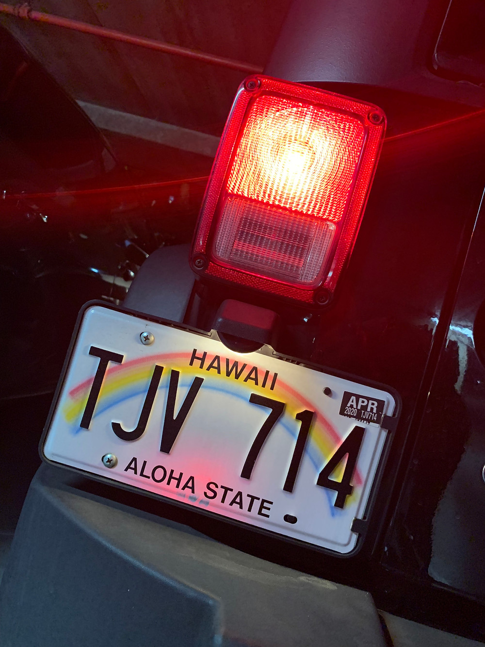 Jeep Wrangler auf Hawaii