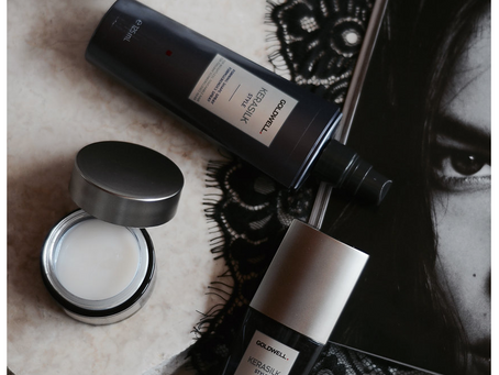 BEAUTY: BE GOOD TO YOUR HAIR W/ KERASILK STYLE
