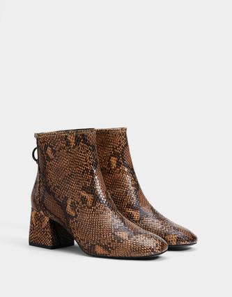 Animal Print Boots