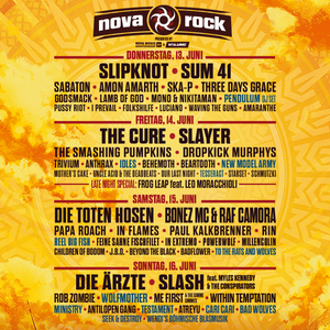 Line-Up NOVA ROCK 2019